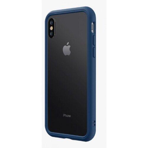 RhinoShield CrashGuard NX Bumper Case - iPhone XS - Royal Blue