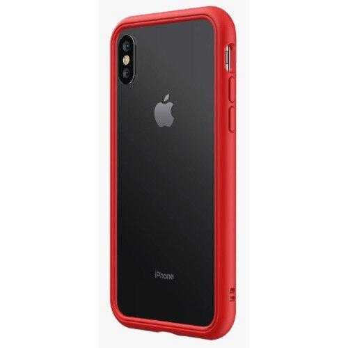 RhinoShield CrashGuard NX Bumper Case - iPhone XS - Red