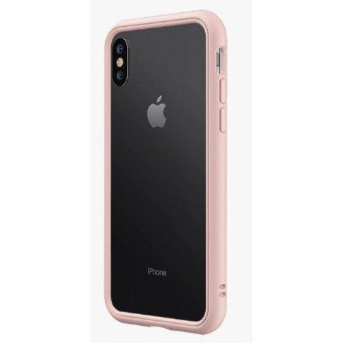RhinoShield CrashGuard NX Bumper Case - iPhone XS - Blush Pink