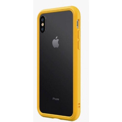 RhinoShield CrashGuard NX Bumper Case - iPhone XS - Yellow