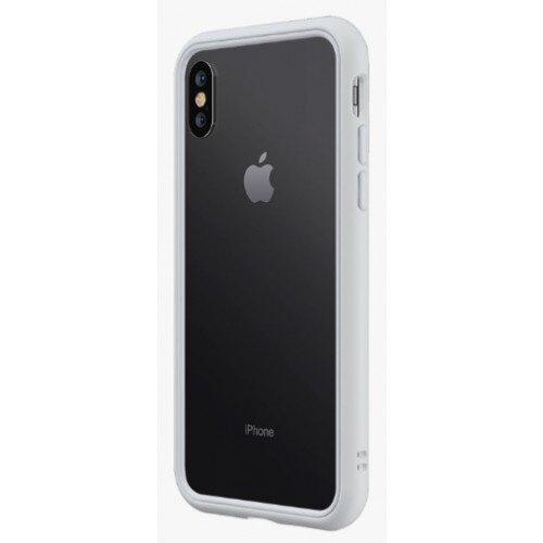 RhinoShield CrashGuard NX Bumper Case - iPhone XS - Platinum Gray