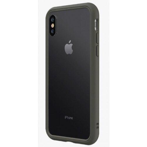 RhinoShield CrashGuard NX Bumper Case - iPhone XS Max - Graphite