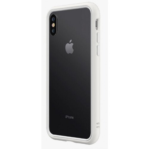 RhinoShield CrashGuard NX Bumper Case - iPhone XS Max - White