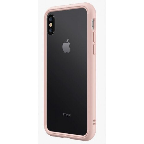 RhinoShield CrashGuard NX Bumper Case - iPhone XS Max - Blush Pink