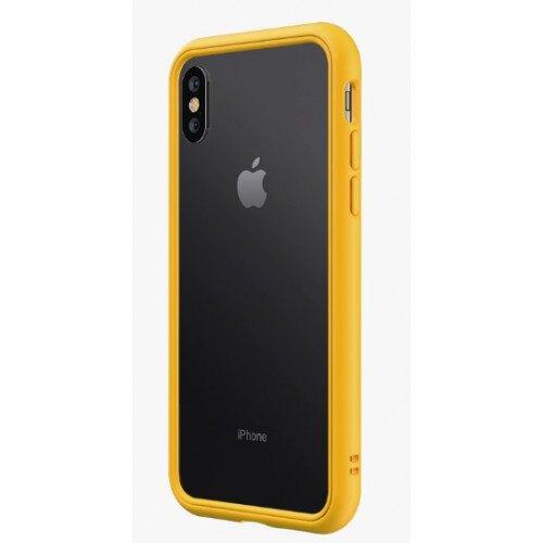 RhinoShield CrashGuard NX Bumper Case - iPhone XS Max - Yellow