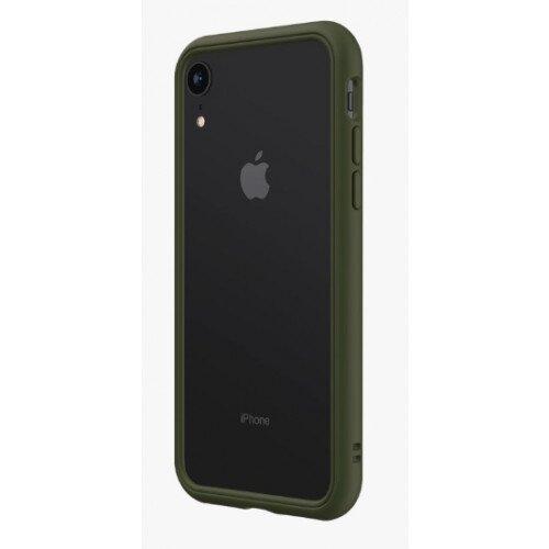 RhinoShield CrashGuard NX Bumper Case - iPhone XR - Camo Green