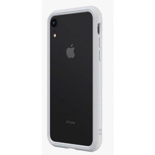 RhinoShield CrashGuard NX Bumper Case - iPhone XR - Platinum Gray