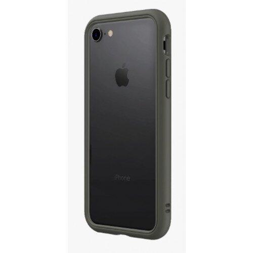 RhinoShield CrashGuard NX Bumper Case - iPhone 8 - Graphite