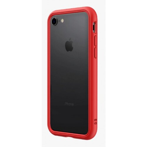 RhinoShield CrashGuard NX Bumper Case - iPhone 8 - Red
