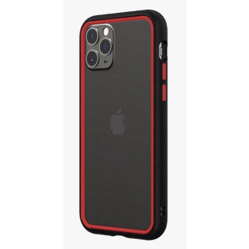 RhinoShield CrashGuard NX Bumper Case - iPhone 11 Pro - Black & Red