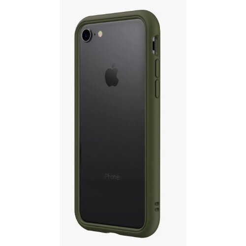 RhinoShield CrashGuard NX Bumper Case - iPhone 8 - Camo Green