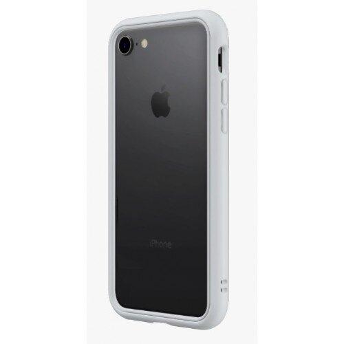 RhinoShield CrashGuard NX Bumper Case - iPhone 8 - Platinum Gray