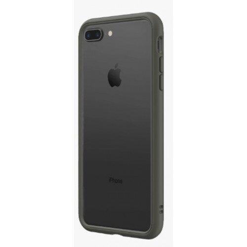 RhinoShield CrashGuard NX Bumper Case - iPhone 8 Plus - Graphite