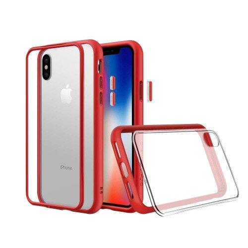 RhinoShield Mod NX Case - iPhone XS - Red