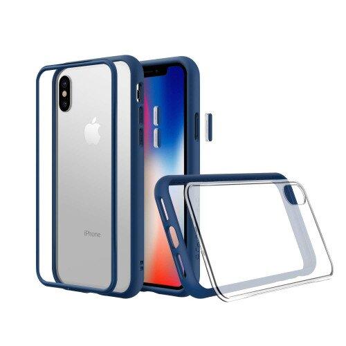 RhinoShield Mod NX Case - iPhone XS - Royal Blue