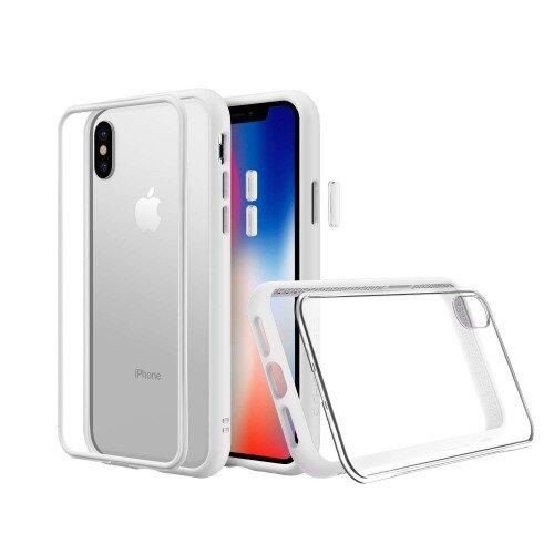 RhinoShield Mod NX Case - iPhone XS - White