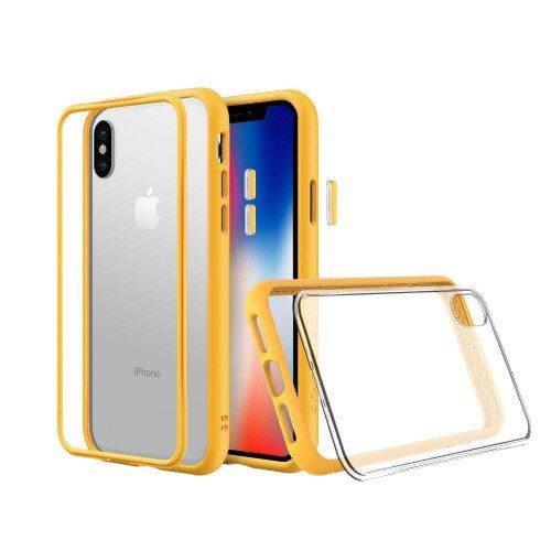 RhinoShield Mod NX Case - iPhone XS - Yellow