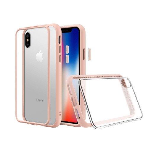 RhinoShield Mod NX Case - iPhone XS - Blush Pink