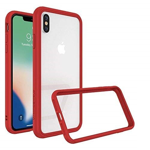RhinoShield Mod NX Case - iPhone XS Max - Red