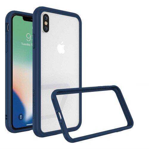 RhinoShield Mod NX Case - iPhone XS Max - Royal Blue