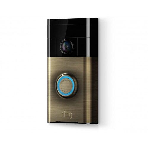 Ring Video Doorbell - Antique Brass