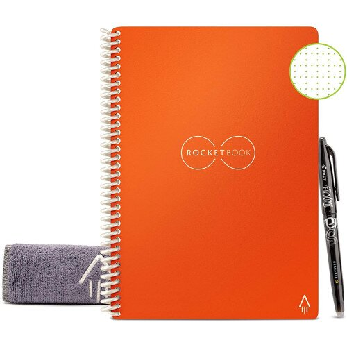 Rocketbook Everlast - Executive 6 in x 8.8 - Beacons Orange
