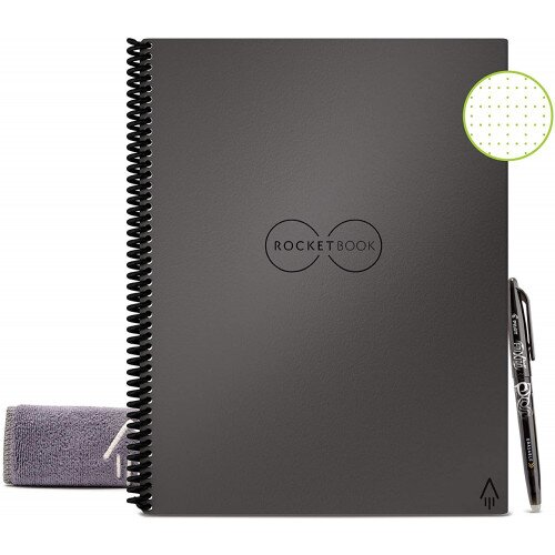 Rocketbook Everlast - Letter 8.5 in x 11 - Deep Space Gray