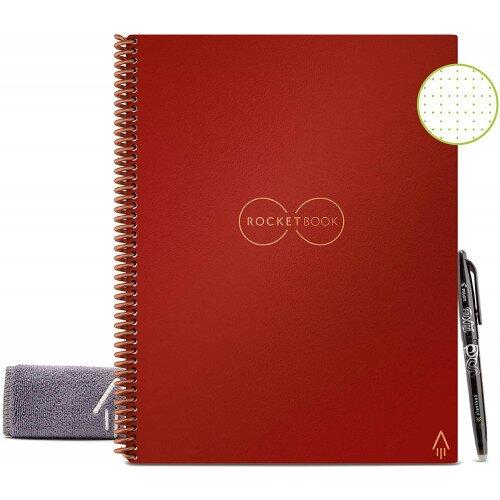 Rocketbook Everlast - Letter 8.5 in x 11 - Scarlet Red