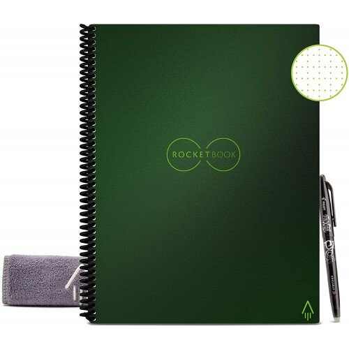 Rocketbook Everlast - Executive 6 in x 8.8 - Terrestrial Green
