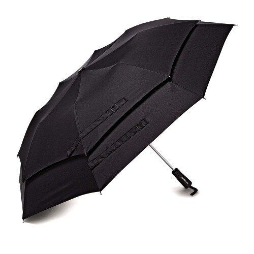 Samsonite Windguard Auto Open Umbrella - Black