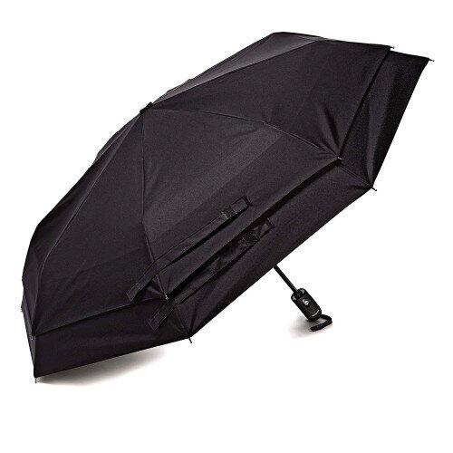 Samsonite Windguard Auto Open/Close Umbrella - Black