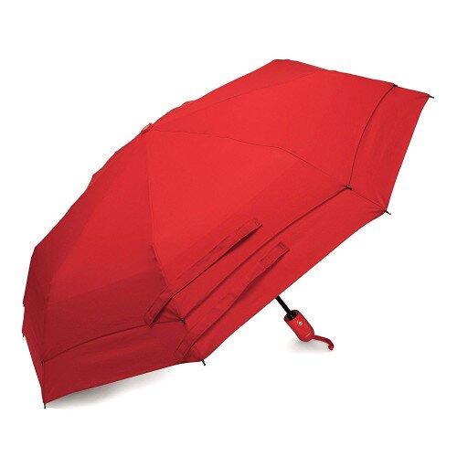 Samsonite Windguard Auto Open/Close Umbrella - Red