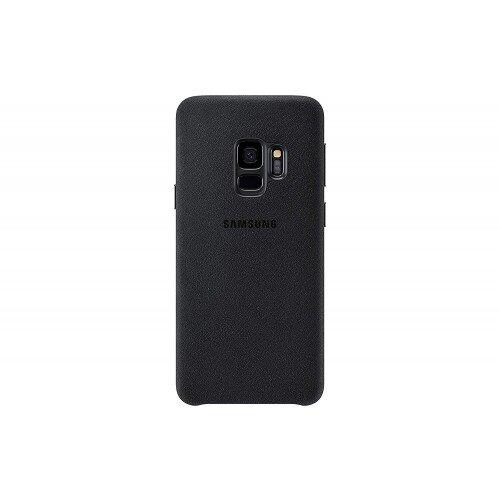 Samsung Galaxy S9 Alcantara Cover - Black