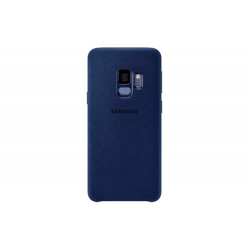 Samsung Galaxy S9 Alcantara Cover - Blue
