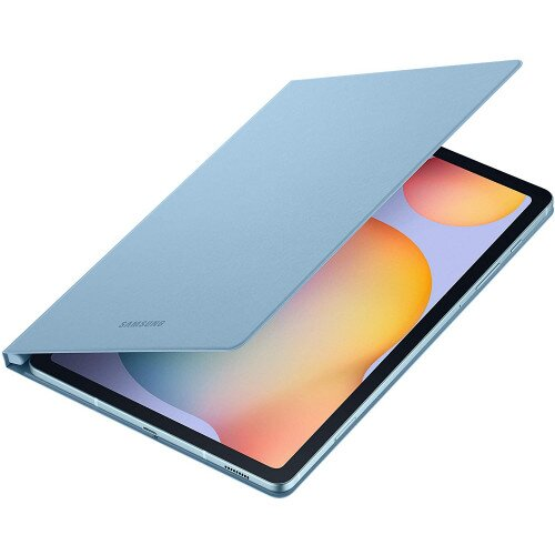 Samsung Galaxy Tab S6 Lite Book Cover - Angora Blue