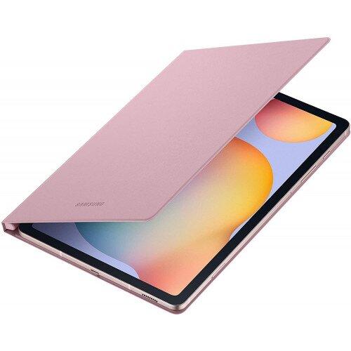 Samsung Galaxy Tab S6 Lite Book Cover - Chiffon Rose