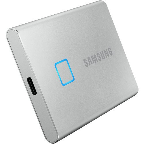 Samsung Portable SSD T7 Touch USB 3.2 - 500B - Silver