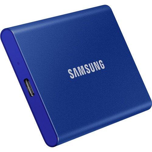 Samsung Portable SSD T7 USB 3.2 - Blue - 500GB