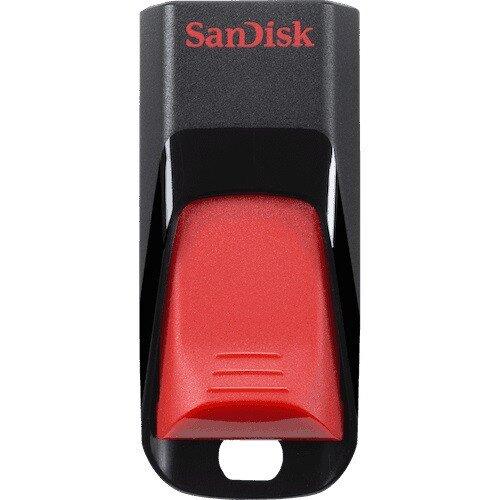 SanDisk Cruzer Edge USB Flash Drive - 16GB - Red