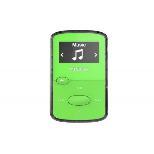 SanDisk Clip Jam MP3 Player - Green