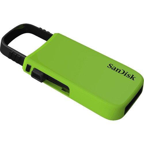 SanDisk Cruzer U USB Flash Drive - 16GB - Green