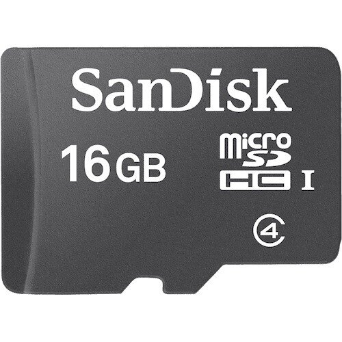 SanDisk Micro SDHC Memory Card - 16GB
