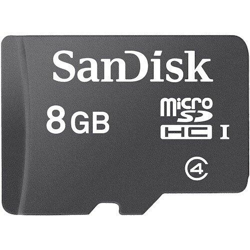 SanDisk Micro SDHC Memory Card - 8GB