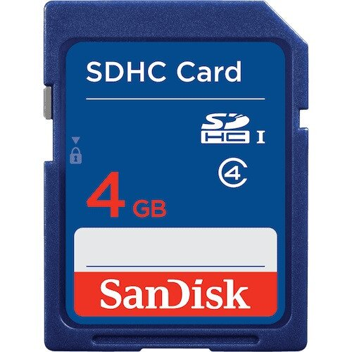 SanDisk SDHC / SDXC Memory Card - 4GB