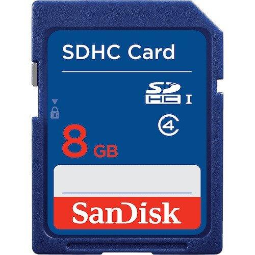 SanDisk SDHC / SDXC Memory Card - 8GB
