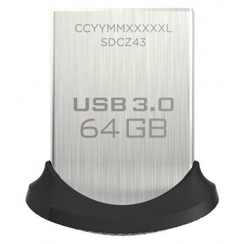 SanDisk Ultra Fit USB 3.0 Flash Drive - 64GB