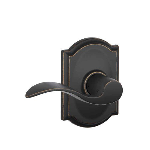 Schlage Accent Lever with Camelot Trim Hall & Closet Lock