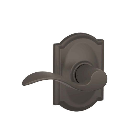 Schlage Accent Lever with Camelot Trim Hall & Closet Lock - Oil Rubbed Bronze