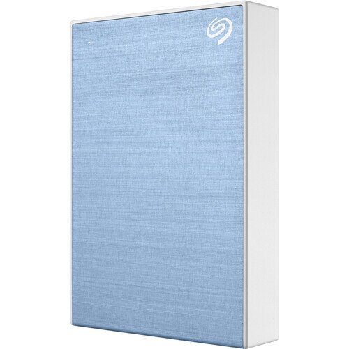 Seagate Backup Plus Portable Hard Drive - 4TB - Light Blue