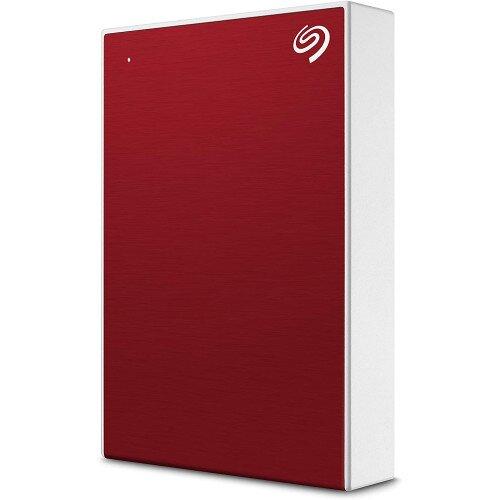 Seagate Backup Plus Portable Hard Drive - 4TB - Red